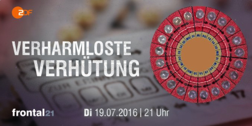 Verharmloste Verhütung ZDF Frontal